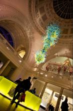 phto of inside V&A museum
